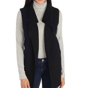 New Direction Black Sweater Vest